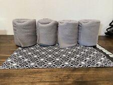 New listing Dover Vac's Gray polo wraps