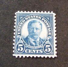 Us Stamp Scott# 637 Roosevelt 1927 Mh L180