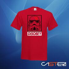 Camiseta disobey soldado imperial stormtrooper basado star wars  (ENVIO 24/48h)