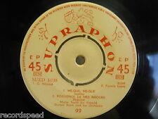 """7"""" Single - MARIO TUALA - Mexico - 4 Track / Sung in French - Supraphon 1038"""