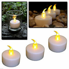 & Tea Lights with Flicker Flame Candles