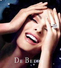 DE BEERS Fine Diamond Jewelry CATALOG 2006 Collection LINDA EVANGELISTA