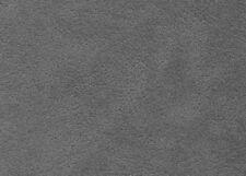Meterware Polsterstoff Alcantara  Wildleder Optik Imitat Mausgrau