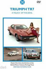 Triumph TR7 A touch of the Devil DVD - including TR7 and TR7 V8 Rally films *NEW