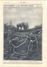 1917 Road Making On The Western Front David Graham Phillips Susan Lenox