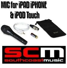 iCON iPLUGM STUDIO QUALITY RECORDING MICROPHONE MIC Apple iPad iPhone iPod Touch