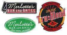 Tru Blood TV Series Merlotte's Embroidered Patch Set of 3 -FREE S&H (TBPA-Set-3)