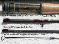 9' 5 wt 4pc Fast Action Toray Nano Im12 fly rod+ Cordura rod tube and rod sock