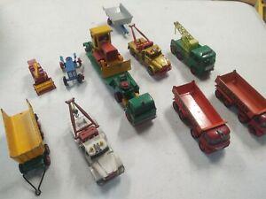 Matchbox Lesney King Size Lot Bp Wrecker Tow Hoveringham Dodge Truck