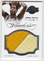 2012-13 Panini Flawless Jamaal Wilkes Jumbo Patch #17/20 Lakers