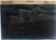 Honda VTX1300C 2004 Parts List Manual Microfiche h373