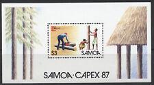 Samoa Capex 87 Sc# 696 MNH