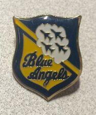 BLUE ANGELS ~ Souvenir Lapel Hat Pin ~ Military Airplanes Jets