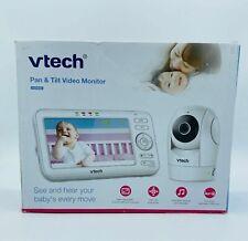 """Vtech Vm5262: Pan Tilt & Zoom Video Monitor 5"""" Color Lcd High Resolution - White"""