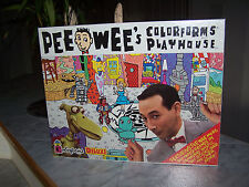 PEE WEE Colorforms Deluxe Playhouse Playset  (NEW)