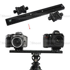 35cm Metal Quick Release Plate +2 Double-sided Clamp for Camera Tripod Ball Head