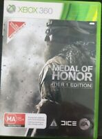 Medal of Honor Tier 1 Edition - XBOX 360 - PAL - Complete