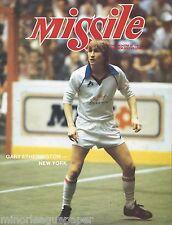 1984 L.A. Lazers vs. Wichita Wings MISL Soccer Program - Gary Etherington #FWIL