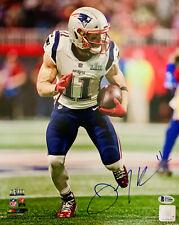 New England Patriots Julian Edelman Signed 11x14 Photo - Beckett BAS