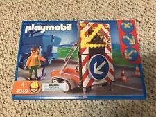NEW RARE playmobil 4049 Signal On Trailer