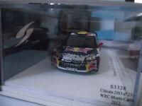 CITROEN DS3 WRC RALLYE MONTE CARLO 2012  NEUVILLE   S3328 1/43 SPARK