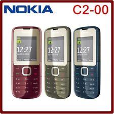NOKIA C2-00 FM Bluetooth MP3 MP4 Player Dual SIM Phone 2G GSM 900 / 1800 1.8 in