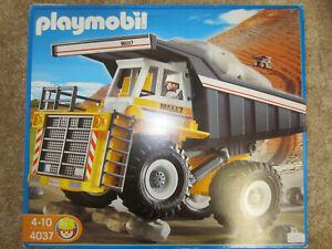PLAYMOBIL® 4037 - Mega-Muldenkipper in OVP, guter Zustand