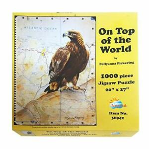 Pollyanna Pickering On Top Of The World Eagle Map 1000Pc Jigsaw Puzzle