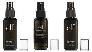 ELF Makeup Mist & Set Vitamin / Matte / Illuminating Fixer Setting Spray e.l.f.
