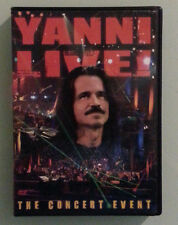 YANNI LIVE ! THE CONCERT EVENT  DVD  includes insert
