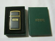 Zippo 1993 Gold Tone Lighter w/ Box  T*