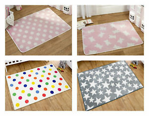 Childrens Kids Boys Girls Decorative Novelty Indoor Bedroom Rugs and Playmats