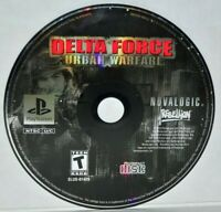 Delta Force: Urban Warfare (Sony PlayStation 1, 2002) PS1 PSOne PSX PS2
