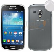 "FUNDA de GEL FINA ""ULTRA-THIN"" 0,3mm TRANSPARENTE SAMSUNG GALAXY TREND S7560"