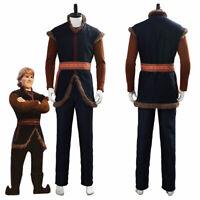 Prince Kristoff Bjorgman Halloween Suit Cosplay Costume Uniform
