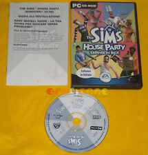 THE SIMS HOUSE PARTY EXPANSION PACK Pc Versione Ufficiale Italiana »»»» COMPLETO