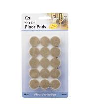 """Set of 192 1"""" Felt Floor Pads Floor Protectors Furniture Pads"""