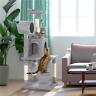 """51"""" Cat Tree Bed Furniture Scratching Tower Post Condo Kitten Pet Play House"""