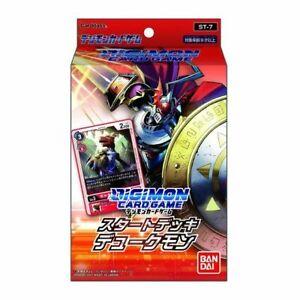 Digimon Card Game Start Deck Dukemon ST-7 Japan NEW Digital monster