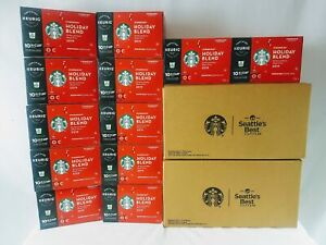 Starbucks Coffee 2019 Holiday Blend KEURIG K-Cups BBD April 18 2020 - 120 pods