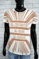 Maglia Uomo DIESEL Taglia Size L Polo Manica Corta Shirt Herrenhemd Stampa