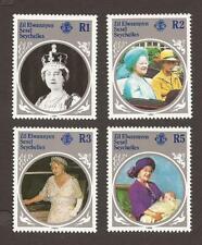 ZIL ELWANNYEN SESEL 1985 SG115/118 Queen Mother MNH (JB17297)