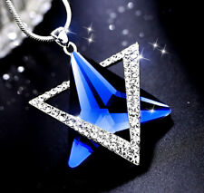 Blue Star Crystal Magic Necklace Manifest your wishes, turn things in my favor