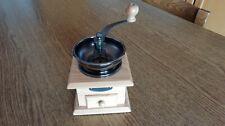 Macinino macina caffe in legno manovella manuale