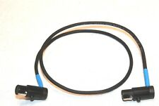 NEW TA3 F TO TA3 F RIGHT ANGLE LOW PROFILE CABLE 18 INCHES