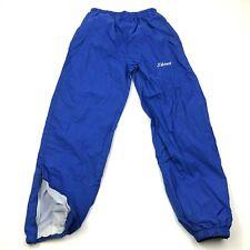 VINTAGE Holloway Pants Size Medium M Adult Blue Joggers Track Nylon SHANA 90's