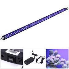 """LED SMD 72""""-84"""" Multi Color Aquaruim Fish Tank Light Extendable Bracket 2 Mode"""
