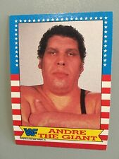 1987 Topps WWF WWESTLiNG CARD Of Andre The Giant