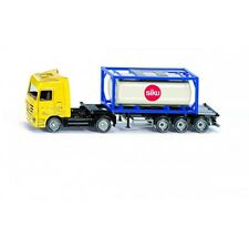 SIKU 1:87 CAMION CON CISTERNA  TRUCK WITH TANK CONTAINER BUS  ART 1795