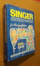 Singer Sewing Series for Home and Fashion Hardcover Binder 1972